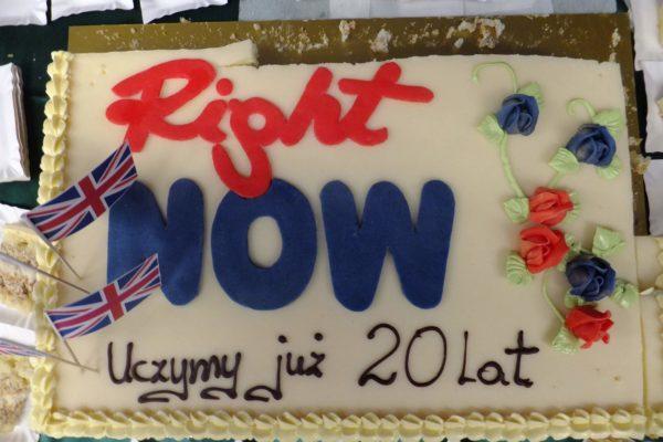 20-lecie Right Now - Wielki Test Językowy - 2012