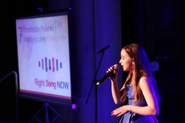 Wyniki Finału Siódmego Przeglądu Piosenki Anglojęzycznej 'RIGHT SONG NOW'