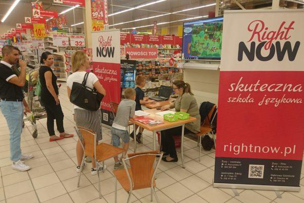 Konkurs językowy w Auchan 'W angielskie słowa granie na ekranie' - 2017