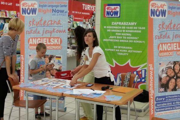 Konkurs 'Safe Way  to School'  zorganizowany przy udziale Auchan, Żory
