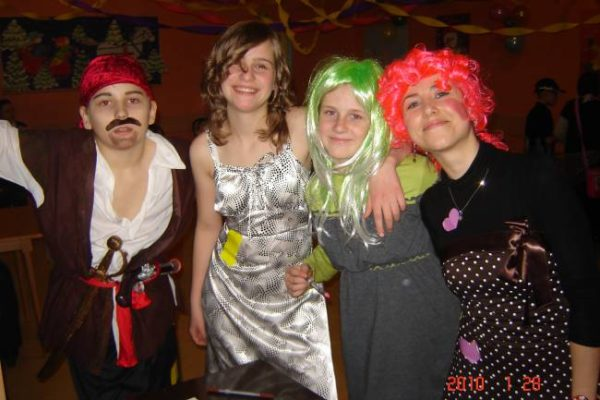 Fancy Dress Carnival Party