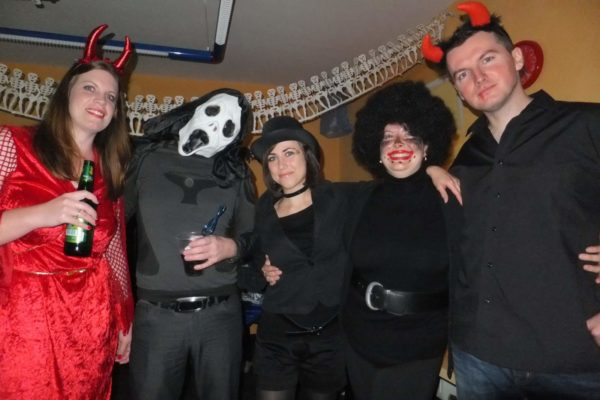 Halloween Teachers' party