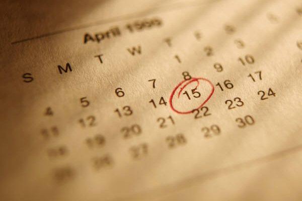 Kalendarz zajęć i płatności