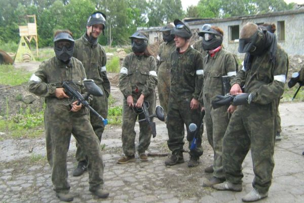 Teachers' Paintball Fun